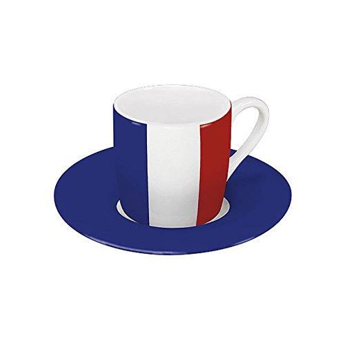 Könitz Espressoset Flaggen Frankreich