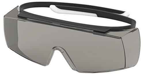 Uvex Super OTG Schutzbrille - Supravision Sapphire - Getönt/Schwarz-Weiß