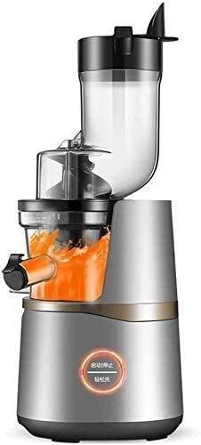 Juicer profesional de expresión completa de exprimidor - Super Power reversible, simple vegetal y exprimidor de frutas con taza de jugo para verduras, frutas, cebolla y nueces fáciles de limpiar Xping