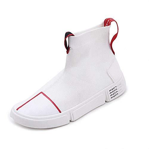 Lucdespo Zapatos Casuales Mujer Zapatos par para Hombres Calcetines artísticos para Viajes Zapatos Hip-Hop Zapatos de Malla Etc.