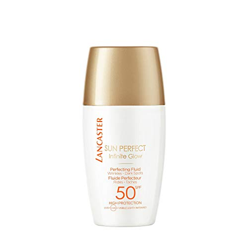 Protetor Solar Lancaster Sun Perfect Infinite Glow Perfecting Fluid SPF50 30ml