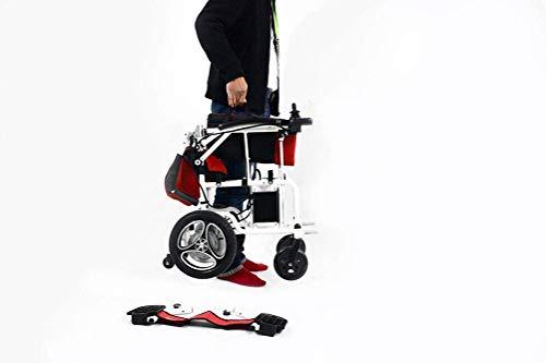 ZHANGYY Elderly Electric Wheelchair Folding Wheelchair Elderly Electric Wheelchair -8484Wheelchairs Tray
