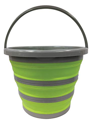 Centurion 1402 Deluxe Collapsible Bucket (Green, 2.65 Gal/10L)