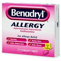 Benadryl latest Allergy Diphenhydramine Antihistaminee Award Hydrochloride