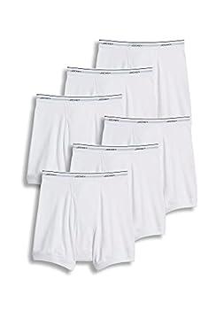 Jockey Men s Underwear Classic Boxer Brief - 6 Pack White l