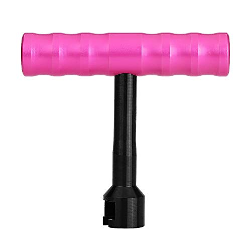 Suuonee deukreparatiegereedschap, autolichaam verwijderingsgereedschap zonder lak, trekker T-bar met roze handvat