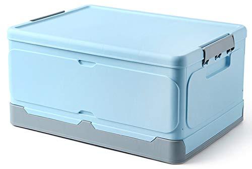 Caja de almacenamiento de plástico original, contenedor de almacenamiento plegable con tapa,...