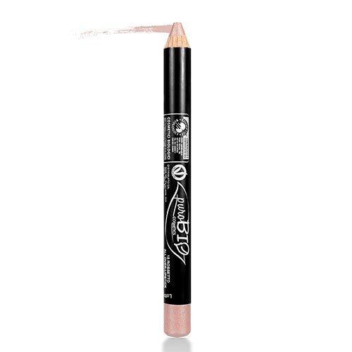 purobio Rouge à lèvres multifonction écologique, rose ancien 15 – 2 gr