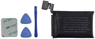 Vvsialeek A1847 Watch Batería compatible con Watch Series 3 38 mm GPS + LTE Cellular versión A1847 con kit de herramientas