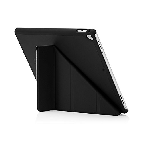 PIPETTO Funda para iPad Mini – Origami Smart Cover iPad Pro 12.9 (1ª y 2ª generación) iPad Pro 12.9-Inch (1st & 2nd Gen) Negro