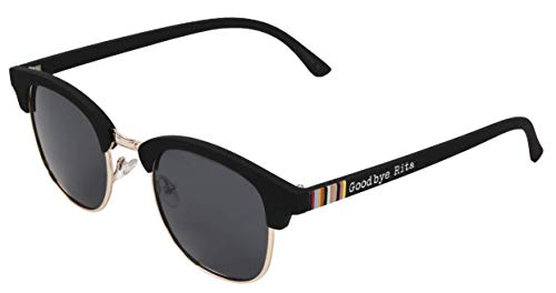 Goodbye, Rita. Gafas de sol montura al aire negra -Lentes Ahumadas - Familia Crew- Modelo MAD