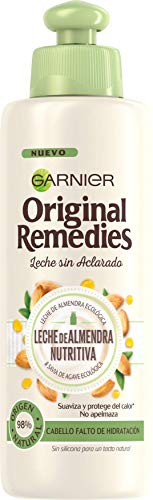 Garnier Original Remedies Leche de Almendra Nutritiva Aceite