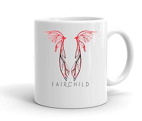IDcommerce Fairchild Symbol Tasse en Céramique Blanche pour Le Thé Et Le Café