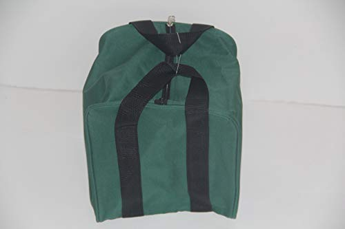 New Premium Quality - Extra Heavy Duty Nylon Bocce Bag (3 of 7) - Green with Black Handles -  EPCO, BBB_Bag_GB
