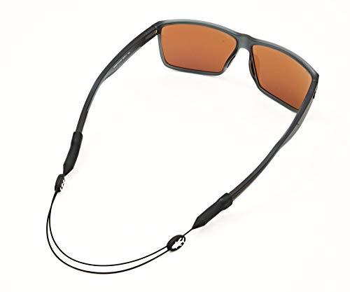 Luxe Performance Correa de cable – Premium ajustable sin cola correa de gafas de sol y retenedor de gafas para tus gafas de sol, gafas o gafas graduadas (peces, 40,6 cm)