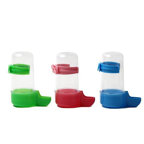 [スプレンノ] 自動給餌器 小鳥 フードフィーダー バードフィーダー 3個セット 鳥用 給水器 給餌器 餌場 水飲み
