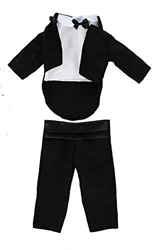 Daniels Puppen Kleidung Hochzeit Frack 3teilig für 36 bis 45 cm große Puppen Jungen , Nr. 385a