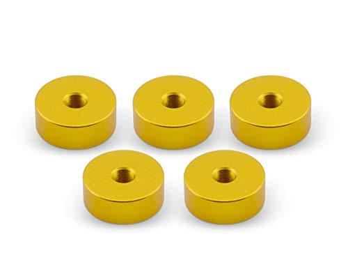 5x INNVAPE Verdampfer Ständer Halter mit 510er Gewinde für Atomizer bis 26mm Durchmesser (Gold)