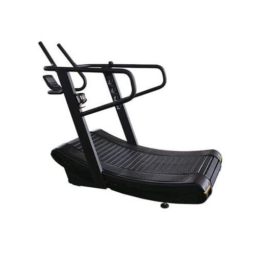 Self Powered Curved Treadmill