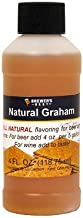 Natural Graham Flavoring Extract - 4 oz.