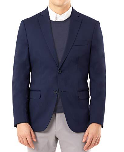 IZOD Men's Varsity Blazer, Blue, 42R