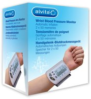 ALVITA Handgelenk-Blutdruckmessgerät 1 St