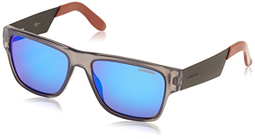 129f63f734b1 Carrera sunglasses 5014 8QDZ0 Optyl Grey Brown with Blue mirror effect