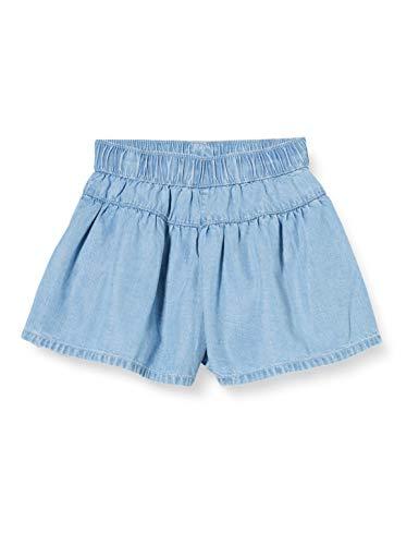 United Colors of Benetton Baby-Mädchen Shorts, Türkis (Azzurro 902), 80/86 (Herstellergröße: 1y)