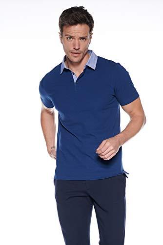 Course Herren Poloshirt Polohemd Basic Polo Rugbyshirt mit Hemdkragen