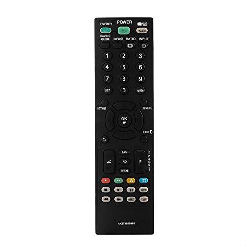 KoelrMsd Canales de conmutación gratuitos Totalmente funcionales AKB73655802 TV Control Remoto Universal Disponible para LG LED LCD Smart TV