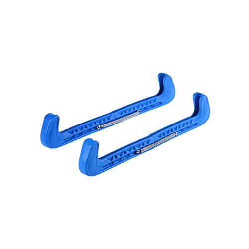 VOSAREA Kufenschoner Schlittschuh Einstellbar Elastische Verschleißfestigkeit Wasserdicht 1 Paar (Blau)