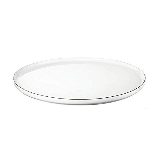 ASA ocoligne Assiette, Porcelaine, Blanc, 32 cm cm