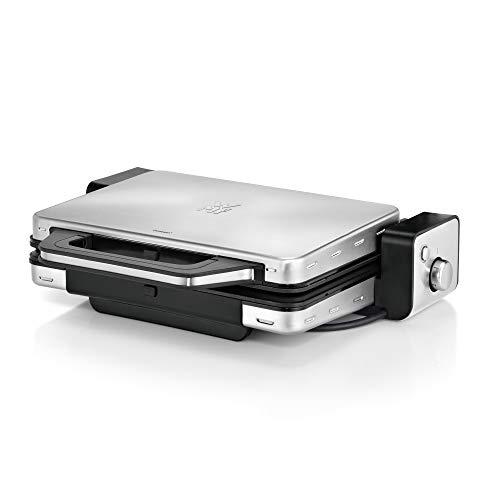 WMF Lono Tafelbarbecue, 2-in-1, vaatwasmachinebestendige grillplaten, 2100 W