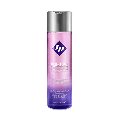 ID Lubricant Stimulating, Water based, Pink_pleasure 8.5 Fl Oz