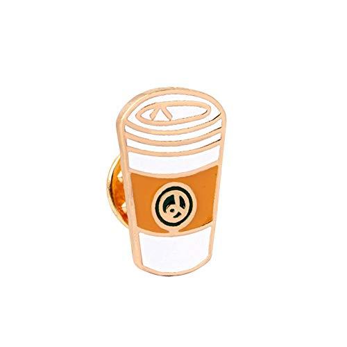 JTXZD broche De nieuwe Cu/Coconut Cups/koffiekopje/glazen/EIS/sinaasappelsap/broche jassen jeans hoed accessoires broche