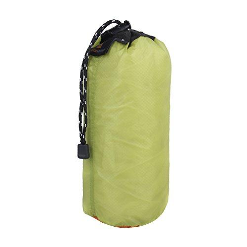 Générique Sac de Rangement Imperméable Ultraléger Organisateur pour Voyage Camping (Vert, 5L M)