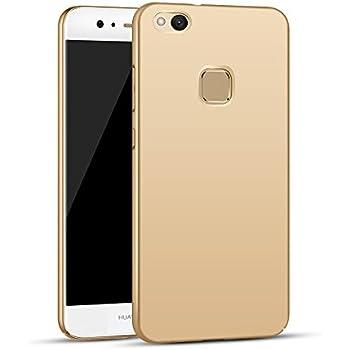 Apanphy Huawei P10 Lite Funda, Alta calidad Ultra Slim Hard sedoso ...