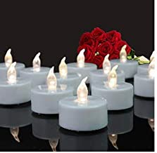 Tappovaly Tea Lights, 24 Pack Flameless LED Candles Battery Operated Tea Lights Candles..
