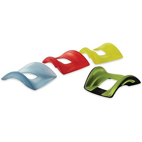 Kensington SmartFit Conform-Handgelenkauflage, Verstellbare Handgelenkstütze mit Gel-Einsätzen für individuellen Komfort bei der Verwendung von Computermäusen, für Rechts- und Linkshänder, K55787EU