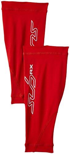 RX Damen Stützende Kompressionswadenschoner - Rot - XL