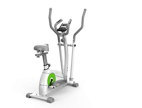 Limepeaks Fitness - LMP-1001 (White) Compact 2-In-1 Dual Action Indoor Elliptical...