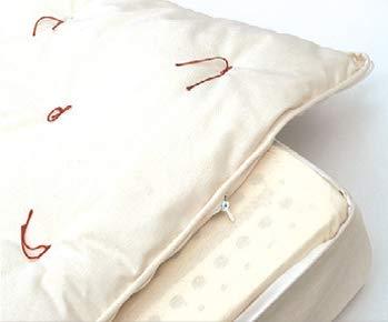 Vivere Zen - Materasso Lattice 100% Naturale - Combo Zen 22 Lattice + 2 futon (Cotone e Lana) - Misura 160x200