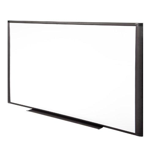 MOB Whiteboard Premium S Line   Saphir-Schwarz   Größe wählbar - mit Alurahmen, magnethaftend, emailliert
