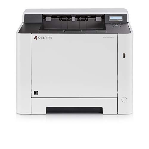 Kyocera Ecosys P5021cdn Farblaserdrucker , Laserdrucker für Farbe und Schwarz-Weiß , 21 Seiten pro Minute , Mobile-Print-Unterstützung für Smartphone und Tablet Bild