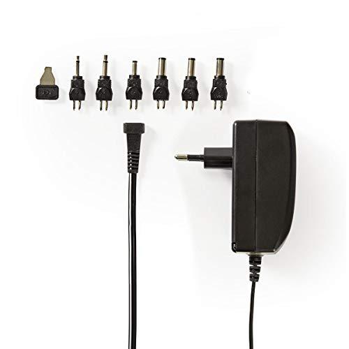 Eurosell - Universal Netzteil 9V 12V 13,5V 15V 18V 20V 24V Adapter 24 W Stecker Netzgerät Ladegerät Universalnetzteil