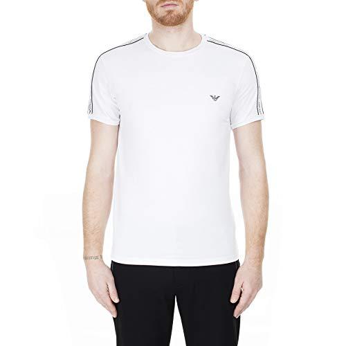 Emporio Armani Underwear Herren Multipack-Core Logoband T-Shirt, Weiß (Bianco 00010), X-Large (Herstellergröße:XL)