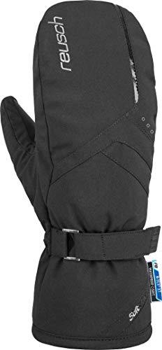 Reusch Damen Hannah R-TEX XT Mitten Handschuhe, Black/Silver, 7