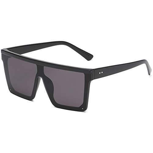 Best Prices! Sunglasses Ikevan Women Men Vintage Retro Glasses Unisex Big Frame Sunglasses Eyewear (...
