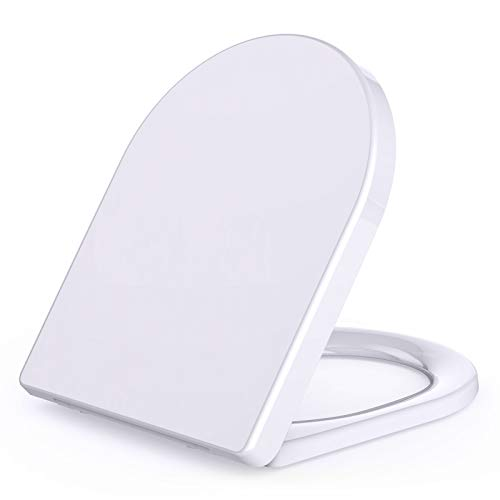 Gomyhom Tapa WC Universal, Asiento Inodoro con Cierre Suave, Tapa WC de...