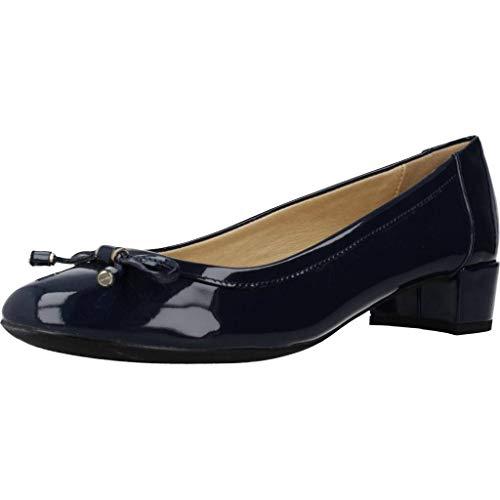 Geox Damen D Carey D Pumps, Blau (Navy), 39.5 EU